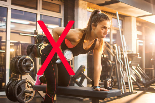avoid weight lifting after breast augmentation